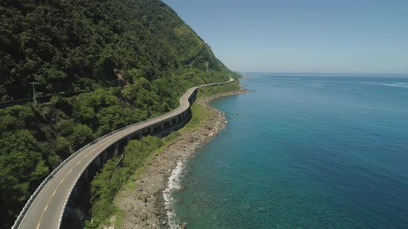 Thumbnail for Highway on the Viaduct By the Sea. Philippines, Luzon