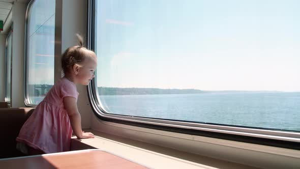 Thumbnail for Baby Girl Toddler Riding Washington Ferry