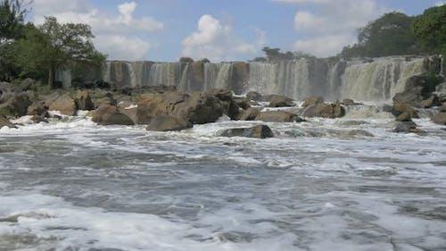 The Fourteen Falls in Kenya