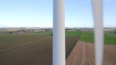 An Onshore Wind Turbine Generating Renewable Energy