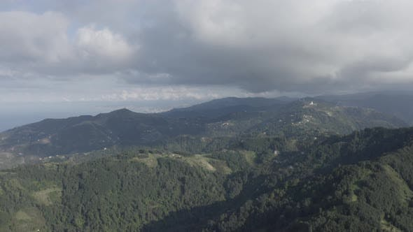 Cover Image for Trabzon City Forest And Mountains Aerial View 3