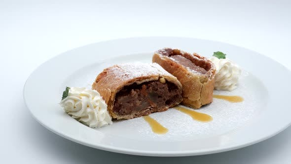 Thumbnail for Delicious Restaurant Food Apple Pie