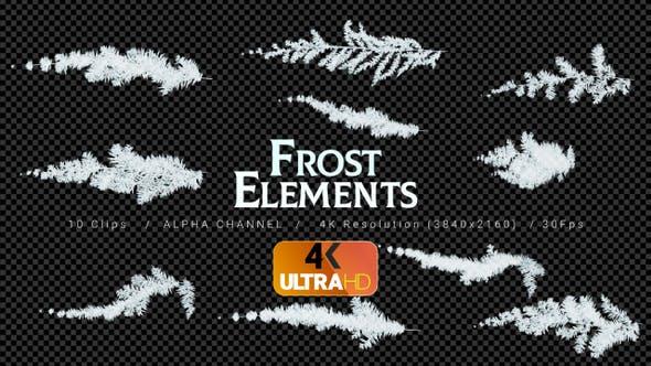 Frost -10 Clips - 4K