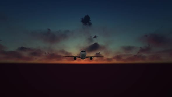 Thumbnail for Aircraft at Evening