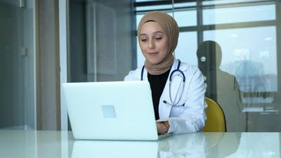 Muslim Female Doctor