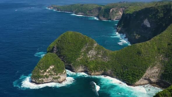 Thumbnail for Kelingking beach, Nusa Penida, Bali, Indonesia.