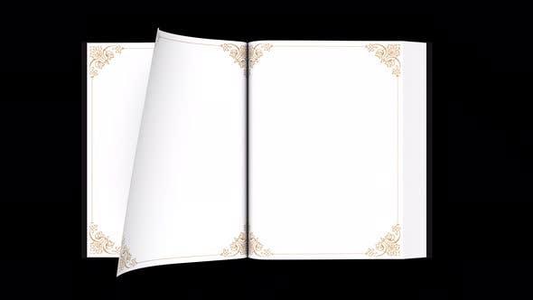 Book Open 4K