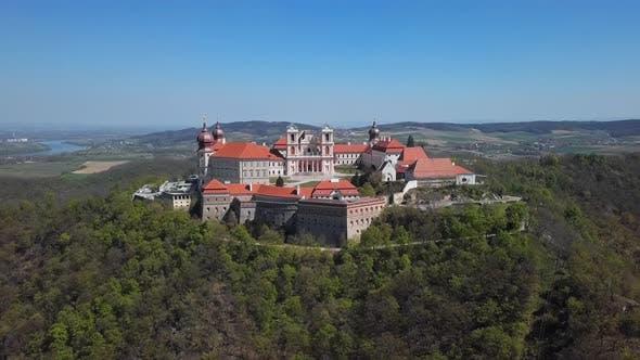 Thumbnail for Aerial View of Gottweig Abbey, Austria