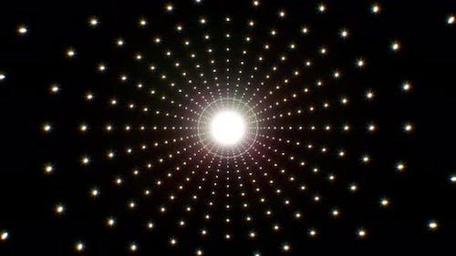 Light Glitter Background 4K Loop