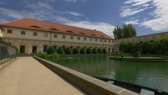 Thumbnail for Pond in Wallenstein Garden