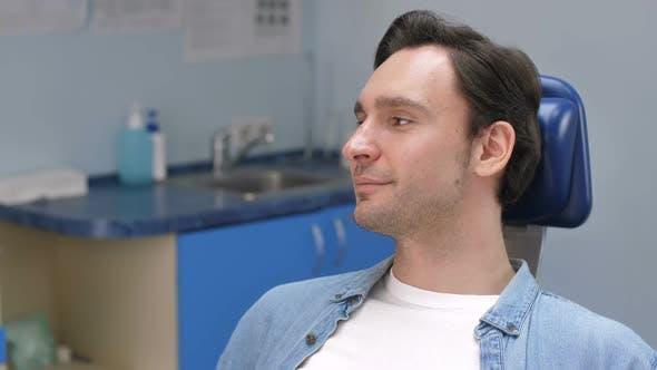 Thumbnail for Portrait of Male Dental Patient Smiling