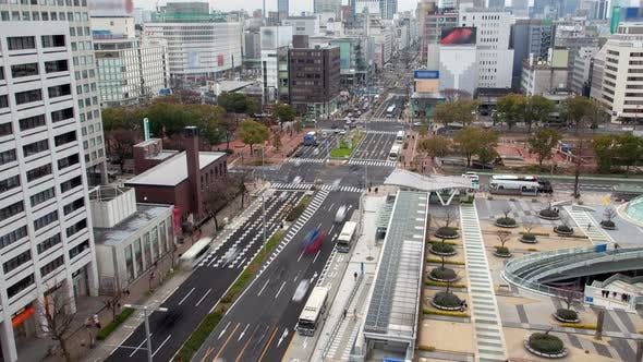 Thumbnail for Nagoya City Transport Highway Car Stream Timelapse