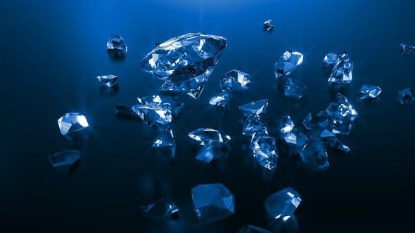 Thumbnail for Blue Shattered Diamonds