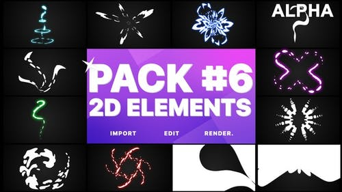 Elements Pack 06 | Graphiques animés Pack