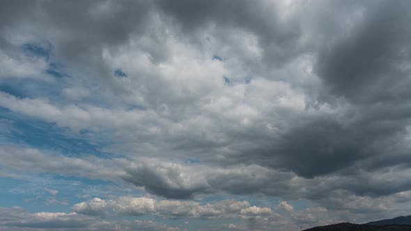 Cloudy Sky, Nature Background