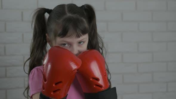 Kickboxen Kind