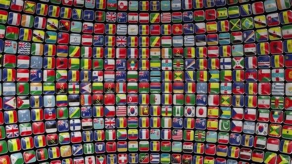 Globe Flags (Alpha Channel)