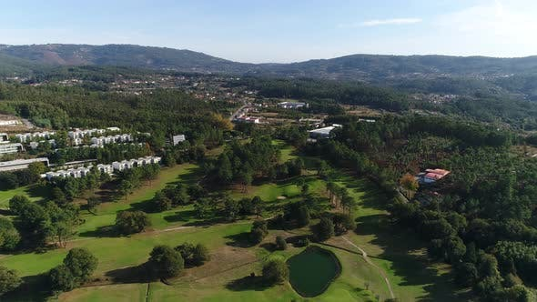 Thumbnail for Golf Course, Aerial View