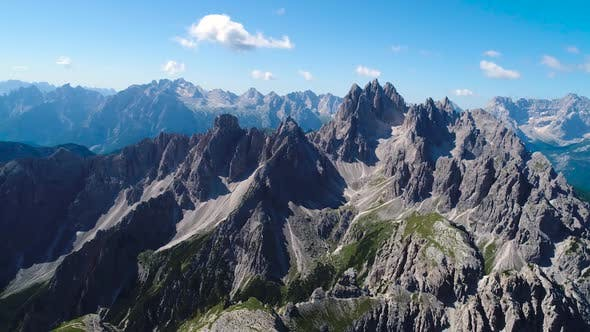 Thumbnail for National Nature Park Tre Cime In the Dolomites Alps. Beautiful Nature of Italy