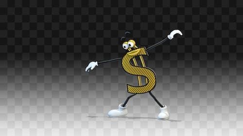 Dollar is dancing funny