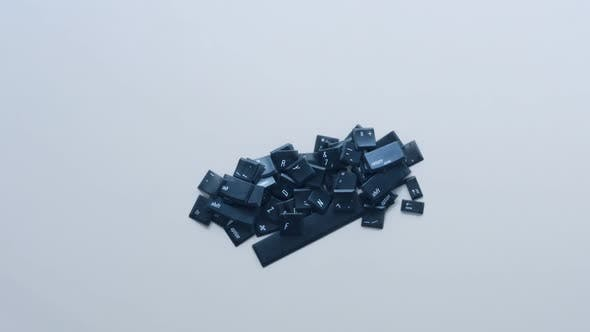 Thumbnail for keyboard loose computer keyboard letters