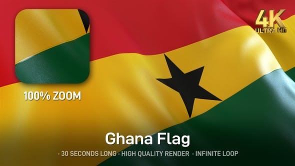 Thumbnail for Ghana Flag - 4K