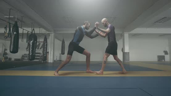 Thumbnail for Mixed Martial Arts Fighters Begin Training