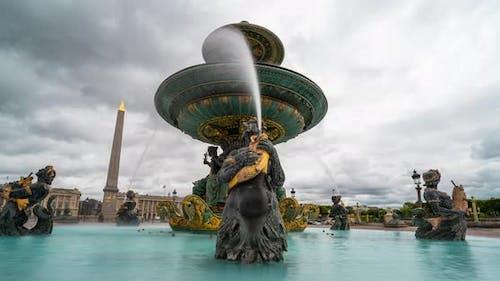 The Fontaine des Fleuves