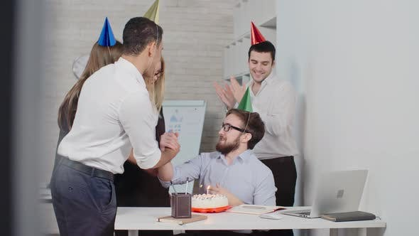 Thumbnail for Congratulations from Colleagues