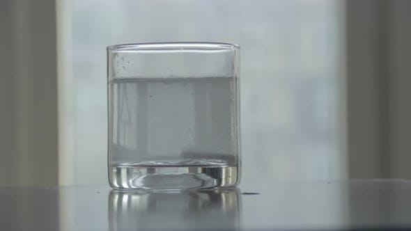 Thumbnail for Timelapse of Effervescent Tablet Dissolving in Water Glass Sound