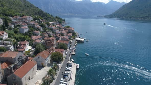 St. Nicholas Church in Perast, Kotor Bay