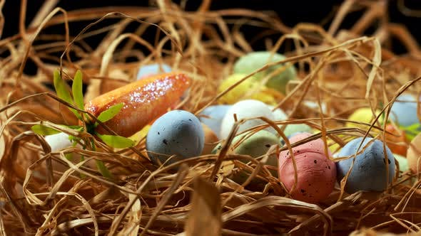 Thumbnail for Colorful Traditional Celebration Easter Paschal Eggs 48
