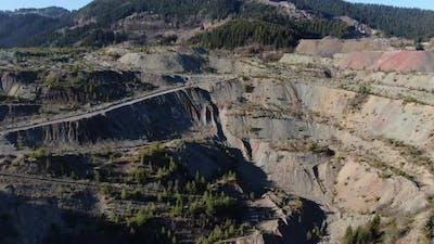Abandoned Mine Aerial
