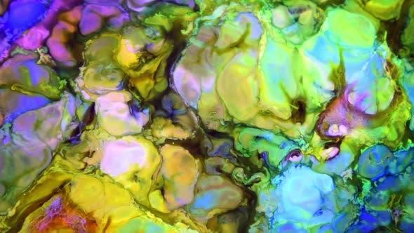 Thumbnail for Psychedelische Galaktische Farbe Hintergrund 12