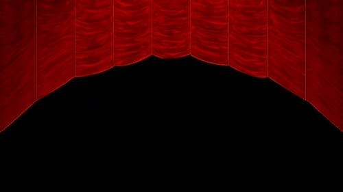 Curtain up and down + alpha