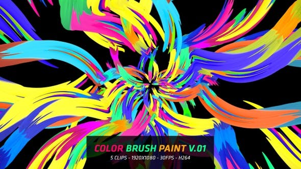 Thumbnail for Color Brush Paint V.01
