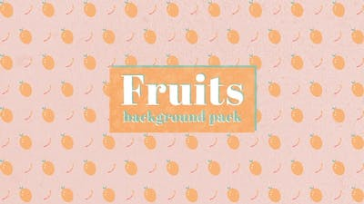 Fruits Background Pack - 20 In 1