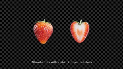 Strawberry With Alpha