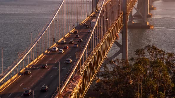 Thumbnail for San Francisco's Bay Bridge Twilight