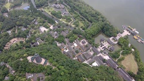 Temple on The Hill, Zhenjiang in Jiangsu