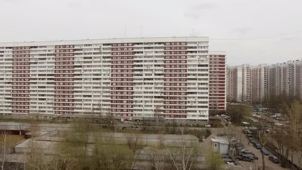 Thumbnail for Aerial View of Residential District in Moscow