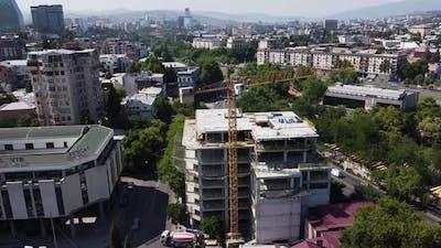 crane building process