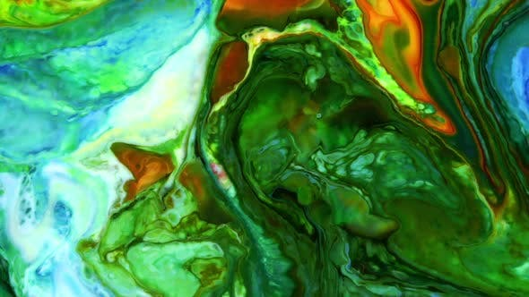 Abstract Colorful Invert Sacral Paint  Exploding Texture 301