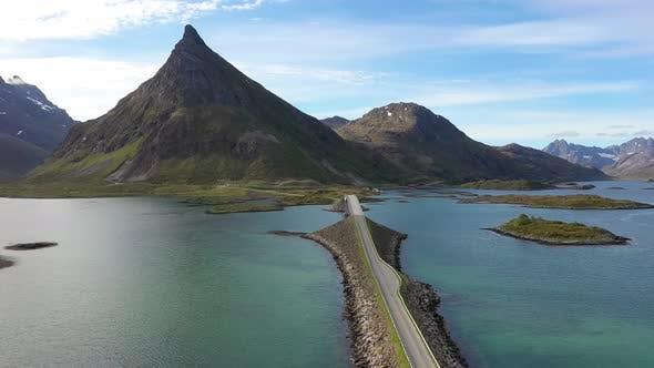 Thumbnail for Fredvang Bridges Panorama Lofoten Islands