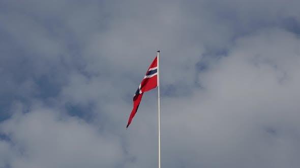 Thumbnail for Norwegian flag in Oslo