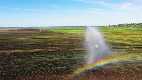 Thumbnail for Irrigation System on Agricultural Land.