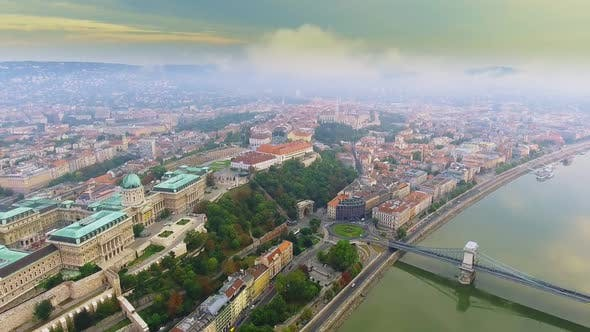 Thumbnail for Aerial Footage Budapest, Hungary.