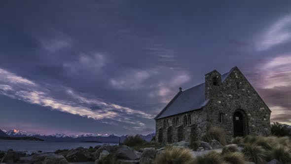 Thumbnail for Timelapse of New Zealand iconic church