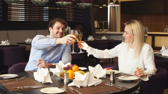Thumbnail for Loving Couple Enjoying the Dinner