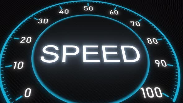 Thumbnail for Speed Futuristic Meter or Indicator